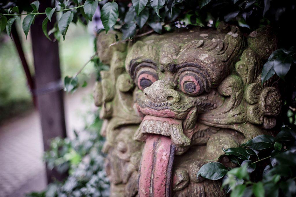 yogis-garden-head-statue